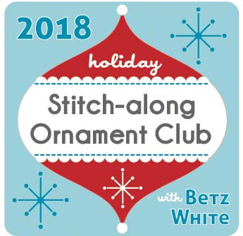 2018 Holiday Stitch-along Ornament Club!