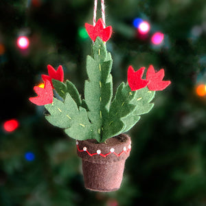 Christmas Cactus Ornament PDF PATTERN