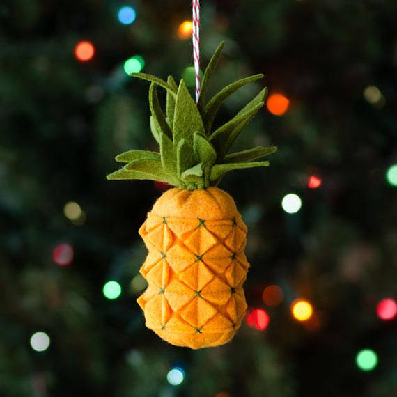 Pineapple Ornament PDF PATTERN