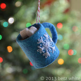 Hot Chocolate Ornament PDF PATTERN