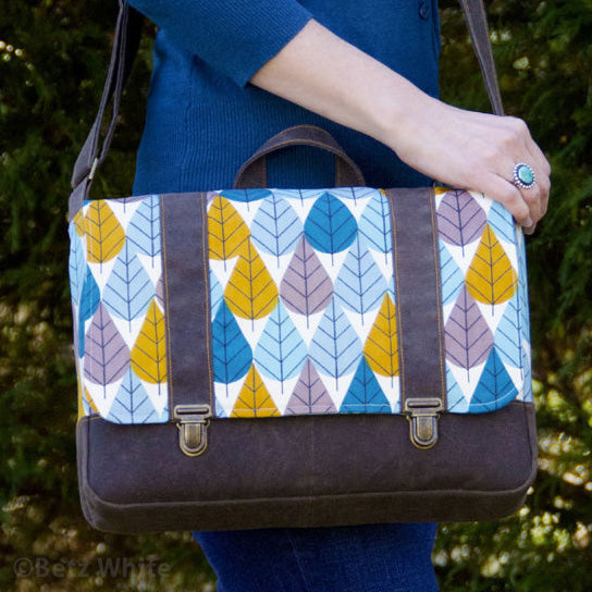 Midtown Messenger Bag PDF Sewing Pattern