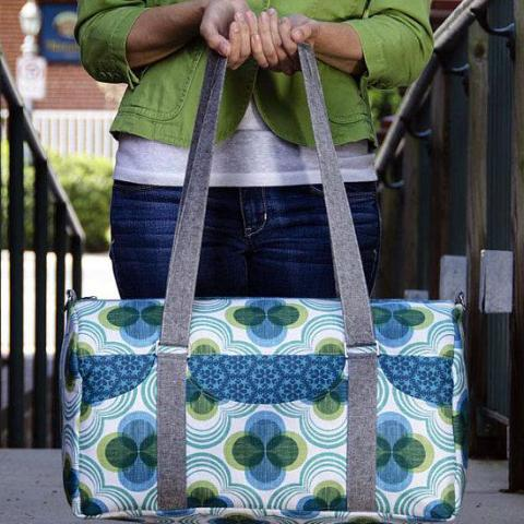 Road Tripper Duffle Bag PDF Sewing Pattern