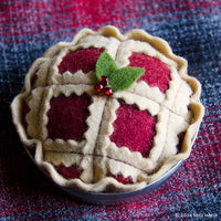 Christmas Pie Ornament PDF PATTERN