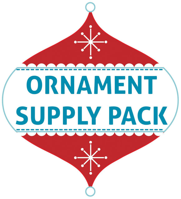 2019 Supply Pack (no patterns) - Holiday Ornament Workshop