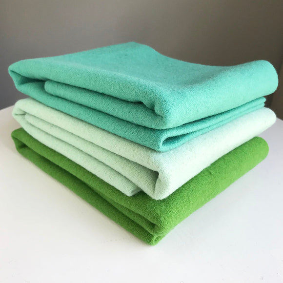 Rug Braiding Bundle - Jade/Mint/Green