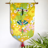 Summer Flies By Banner Embroidery PDF pattern