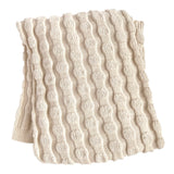 Eco-Tot Blanket: Organic Cotton Puffball