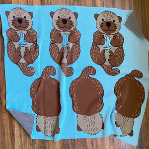 Eco-tot Blanket: Significant Otters