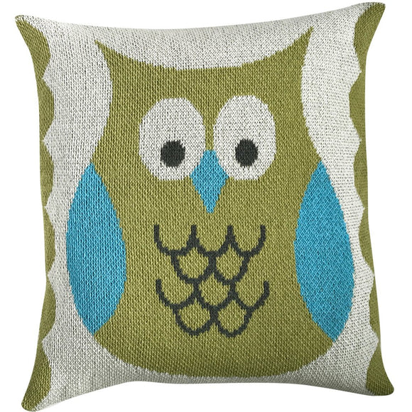 Eco-Tot Pillow Cover: Owl