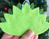Peacock Ornament PDF PATTERN