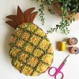 Handcrafted Keeper - Yellow Heather/Olive Pineapple