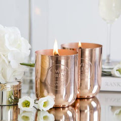 Rose Gold Luxury Candles