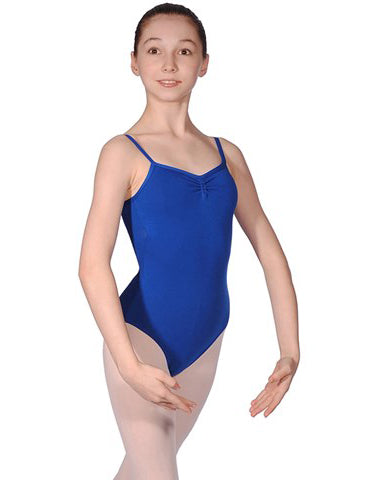 """AVA"" Cotton Camisole Leotard"