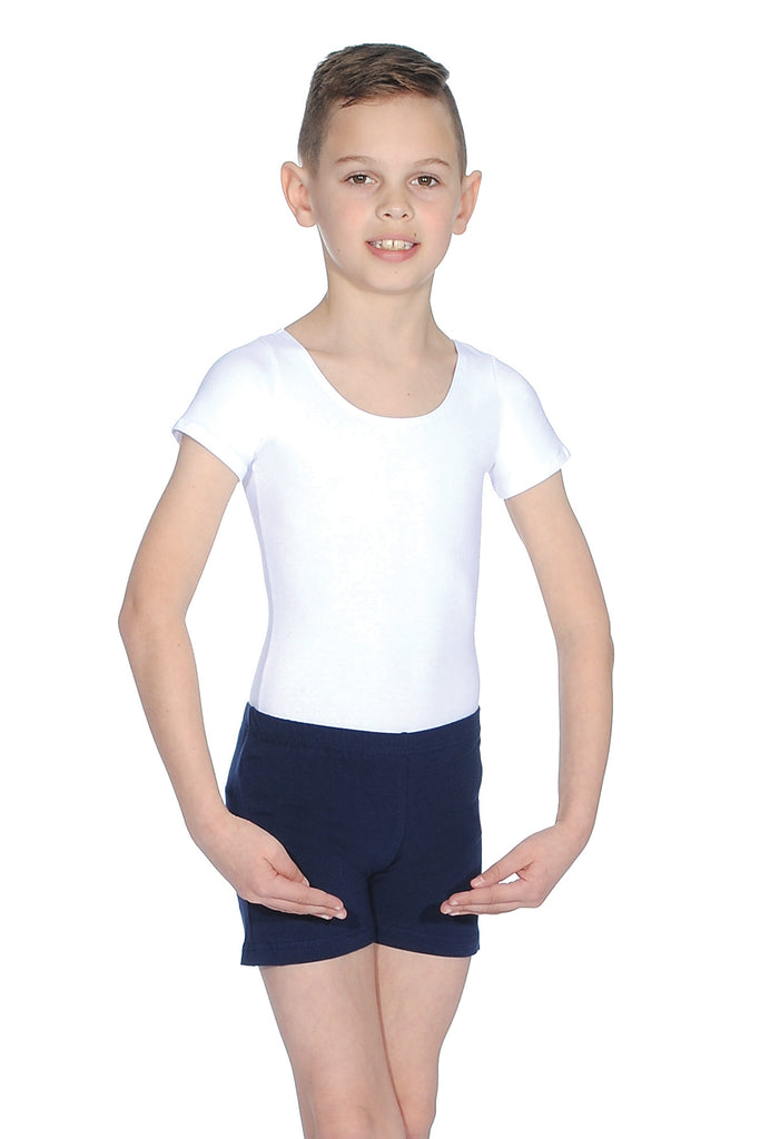 Boy's Loose Fit Cotton Lycra Shorts