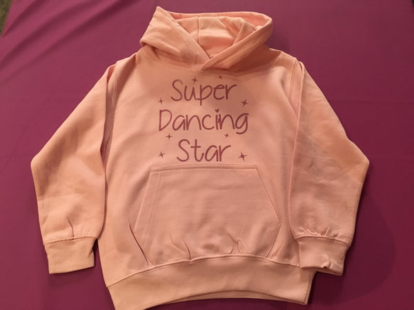 """Super Dancing Star"" Child's Hoody"