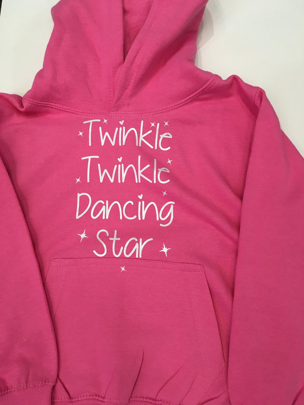 """Twinkle, Twinkle, Dancing Star"" Child's Hoody"