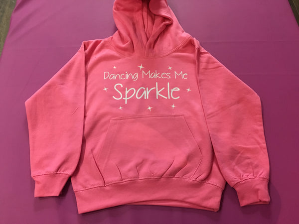 """Dancing Makes Me Sparkle"" Child's Hoody"