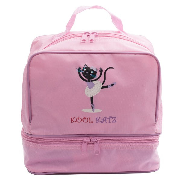 GIRLS SMALL PINK DANCE BALLET RUCKSACK