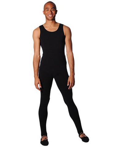Cotton Lycra Sleeveless Tank Leotard
