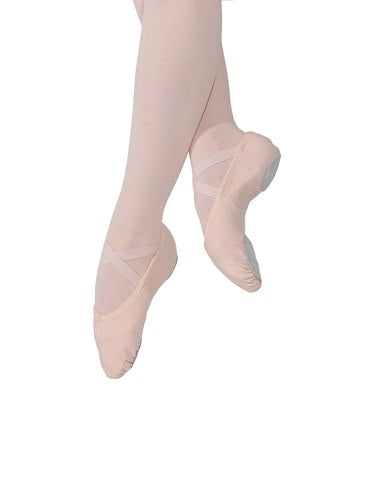 Stretch Canvas Ballet Shoes - Split Sole