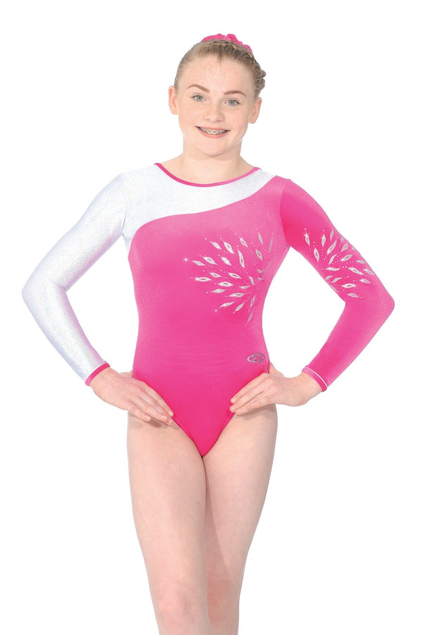 """ECLIPSE"" Long Sleeve Leotard"