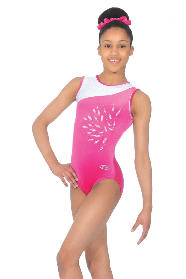 """ECLIPSE"" Sleeveless Leotard"