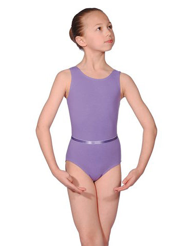 Sleeveless Cotton Leotard