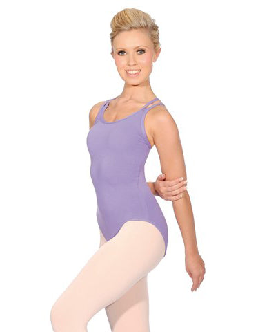 """SOPHIE"" Cotton Camisole Leotard"