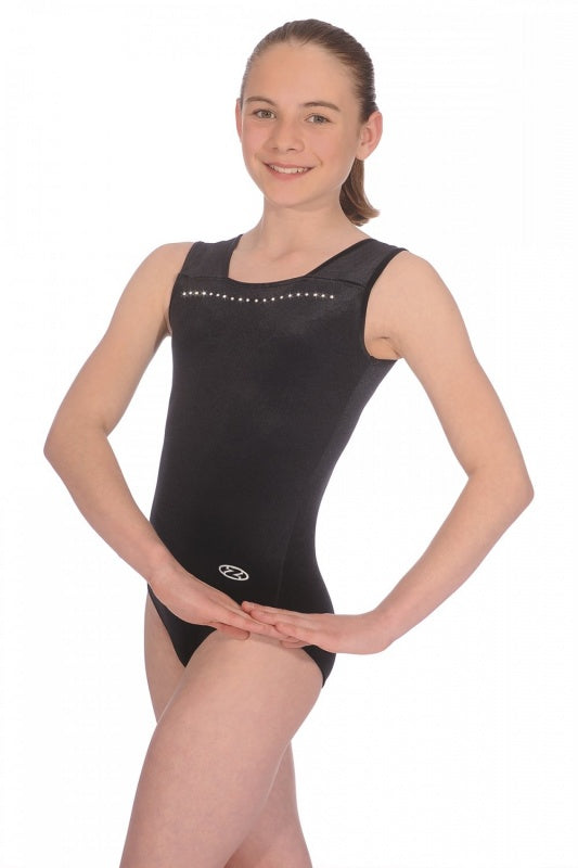 """SPARKLE"" Sleeveless Leotard"