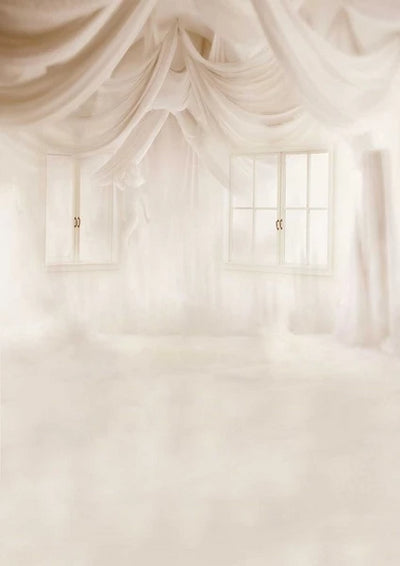 Dreamy wedding backdrop window background with angel-cheap vinyl backdrop fabric background photography