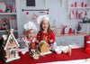 Kitchen photography background Christmas theme backdrop