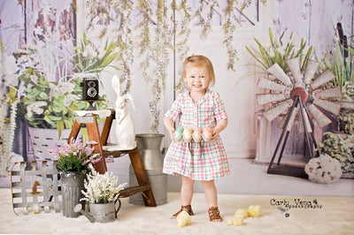 Spring photography backdrops door background