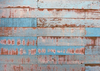 Grunge background old blue wood backdrop