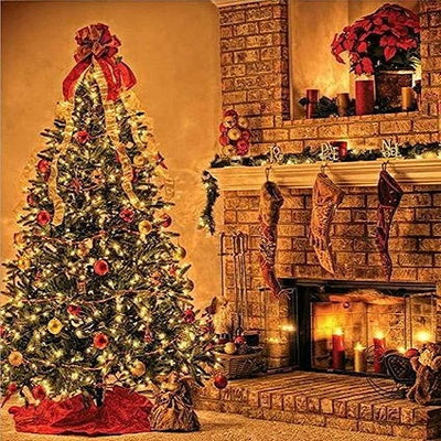 Stockings and Christmas tree backdrops stove for photography-cheap vinyl backdrop fabric background photography