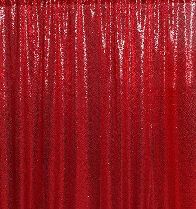 Red Sequin Backdrops for Photography Photo Booth for birthday/party -custom backdrop whose drop