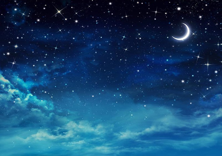 Starry Night Backdrop For Children Photo For Sale Whosedrop