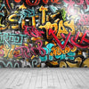 Graffiti wall backdrop vintage background