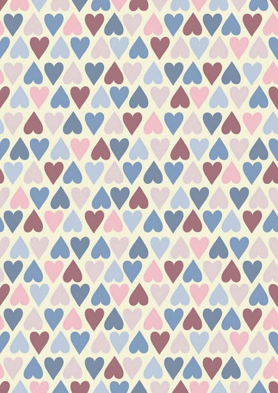 Love pattern background Valentine's day backdrop
