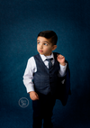 Navy blue portrait backdrops abstract background