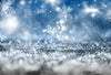 Bokeh backdrop crystal snowflake winter background-cheap vinyl backdrop fabric background photography