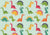Dinosaur pattern backdrop child photo background