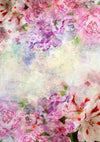 Grunge Floral Photography Backdrop, Watercolor flowers photos-cheap vinyl backdrop fabric background photography