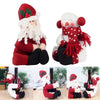 2pcs/set Red Wine Bottle Cover Bags Santa Claus Dinner Table Santa Claus+Snowman Decoration-cheap vinyl backdrop fabric background photography