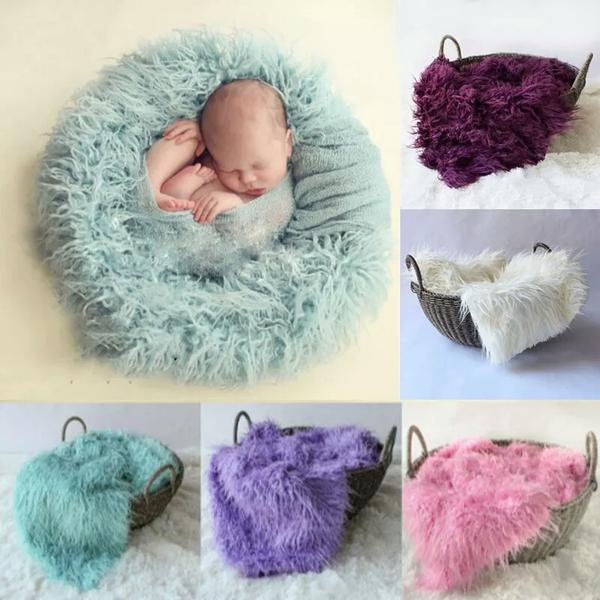 Baby full moon clothing newborn photography props long blanket cheap backgrounds high quality