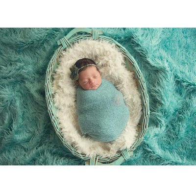 Baby Full Moon Clothing Newborn Photography Props Long Blanket-cheap vinyl backdrop fabric background photography