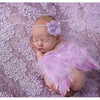 Newborn Photography Props Feather Angel Wings and Headband Color Optional-cheap vinyl backdrop fabric background photography