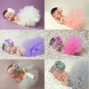 Girl Photo Photography Props Tutu Skirt Dress with Headband - whosedrop