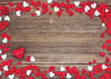 Wood love heart photography valentine backdrop-cheap vinyl backdrop fabric background photography