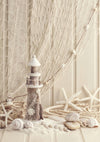 Summer photography backdrop sailing lighthouse background-cheap vinyl backdrop fabric background photography