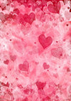 Red love background Valentine's Day backdrops